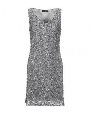 Короткое платье AFTERSHOCK. Цвет: серый