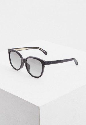 Очки солнцезащитные Givenchy GV 7134/F/S 807. Цвет: черный