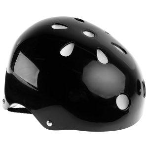 Шлем защитный ot-s507 детский, d=55 см, цвет чёрный ONLITOP
