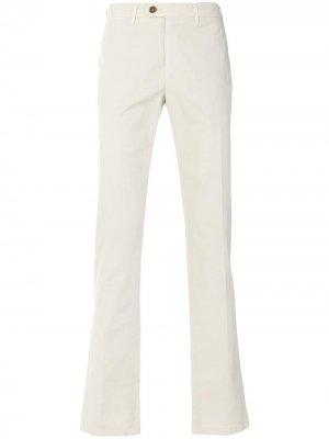 Классические брюки-чинос Canali. Цвет: нейтральные цвета