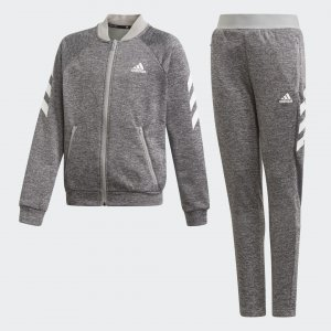 Спортивный костюм YG XFG W TS Performance adidas. Цвет: белый