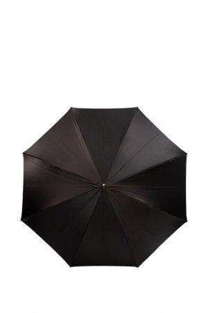 Зонт-трость Eleganzza. Цвет: черный