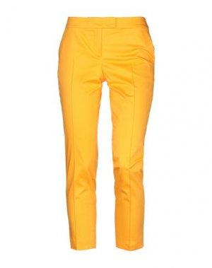 Повседневные брюки AKRIS PUNTO. Цвет: оранжевый