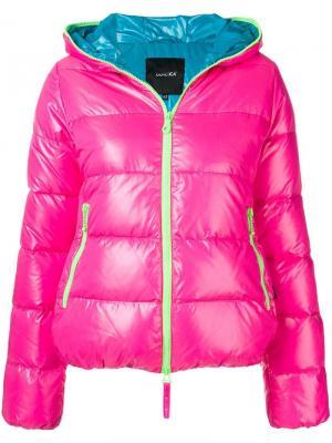 Пуховая куртка с капюшоном Duvetica. Цвет: розовый