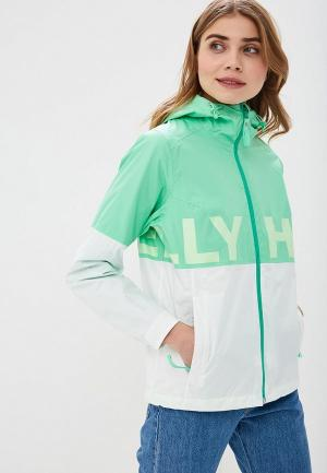 Ветровка Helly Hansen W AMUZE JACKET. Цвет: зеленый