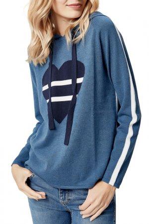 Пуловер MANODE. Цвет: blue, white