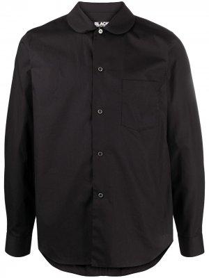 Рубашка с воротником Питер Пен Black Comme Des Garçons. Цвет: черный