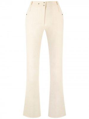 Расклешенные брюки Gloria Coelho. Цвет: нейтральные цвета