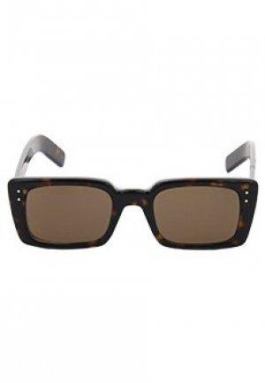 Очки GUCCI sunglasses. Цвет: коричневый