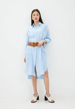 Платье Max Mara Leisure. Цвет: голубой