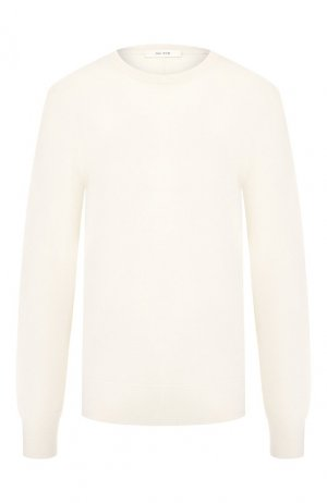 Кашемировый пуловер The Row. Цвет: бежевый