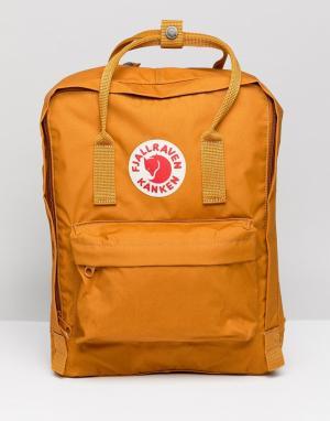 Желтый классический рюкзак Kanken Fjallraven