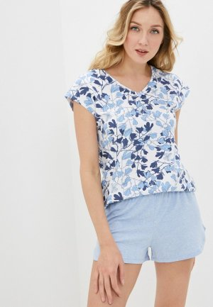 Пижама Mia Cara. Цвет: голубой