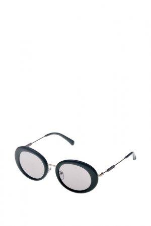 Солнцезащитные очки CKJ. Цвет: зеленый