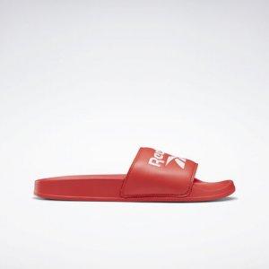 Шлепанцы Classic Reebok. Цвет: radiant red / white / none