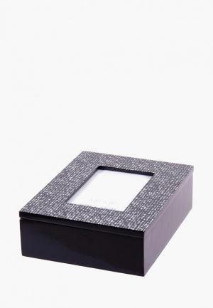 Шкатулка Русские подарки. Цвет: черный
