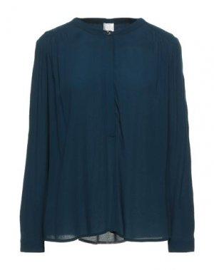 Блузка DES PETITS HAUTS. Цвет: цвет морской волны