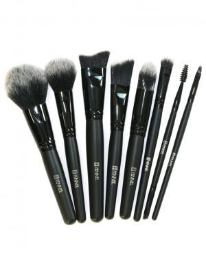 Набор кистей для макияжа Fennel. Цвет: черный