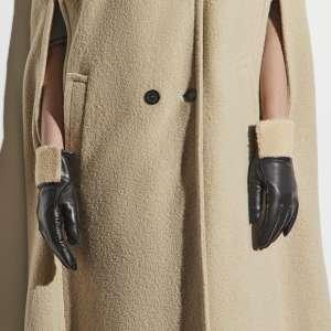 Перчатки Ekonika EN33318 black/beige-20Z. Цвет: черный/бежевый