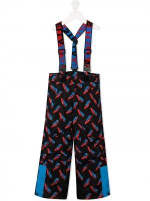 Лыжные брюки 3D Lightning Poly Stella McCartney Kids. Цвет: черный