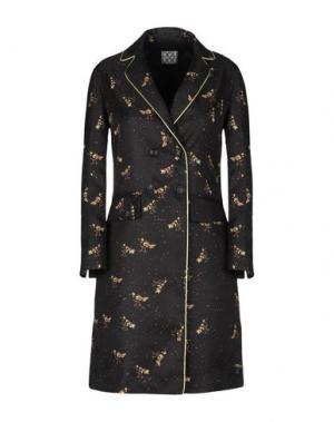 Легкое пальто DOUUOD. Цвет: черный