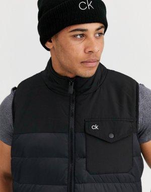 Черный жилет Calvin Klein Golf