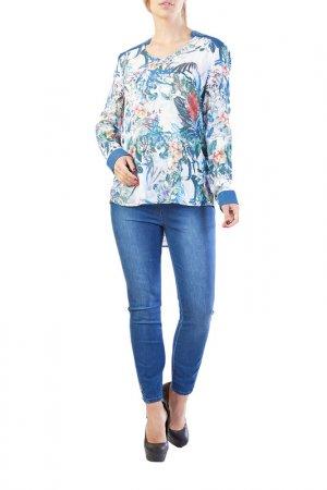 Блуза LAFEI-NIER. Цвет: мультицвет