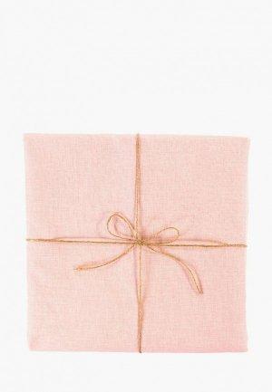 Скатерть Tkano 143х250. Цвет: розовый