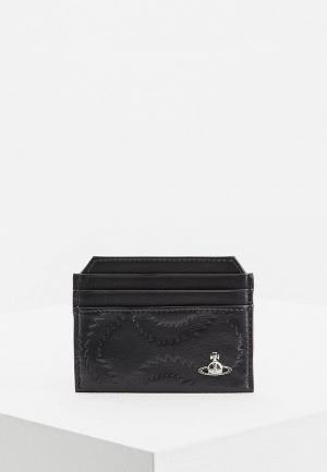 Визитница Vivienne Westwood Man. Цвет: черный