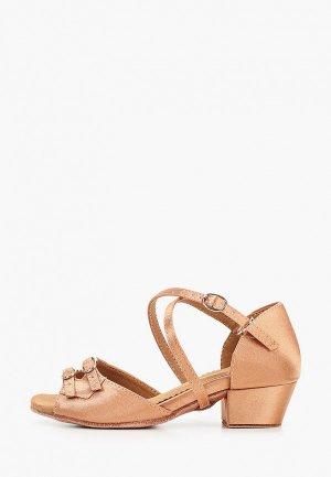 Туфли для танцев Dance House S-150D. Цвет: коричневый