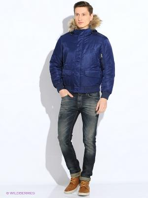 Куртка EVOLUTION. Цвет: синий