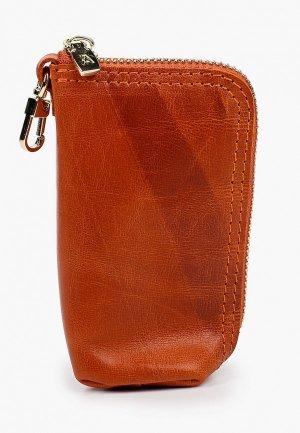 Ключница Alexander Tsiselsky Kluva, 7х12 см. Цвет: оранжевый