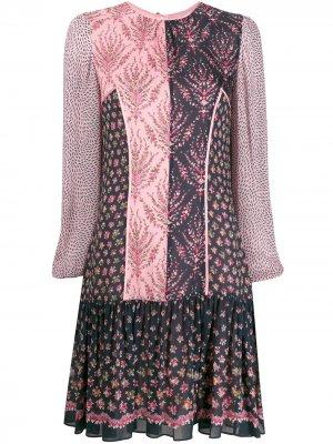 Платье Vita с принтом Liberty London. Цвет: черный