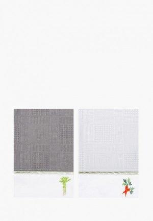Набор полотенец кухонных Bellehome Vegan, 40х70 см