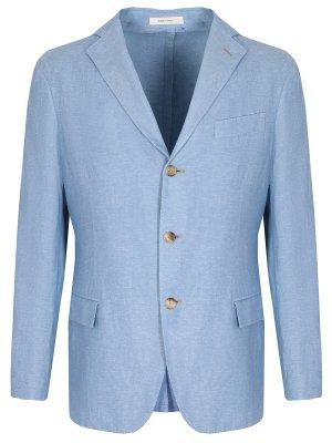 Пиджак из кашемира и льна COLOMBO