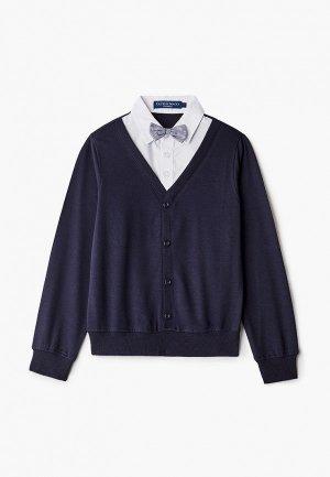 Пуловер Brostem. Цвет: синий