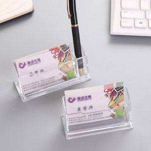 Прозрачный деловой футляр для карт 1шт SHEIN