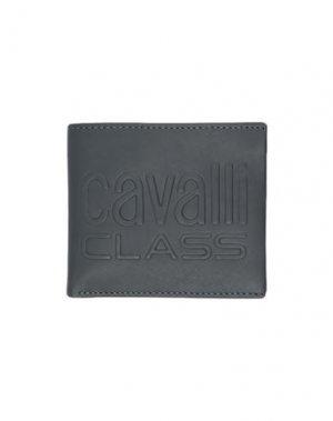 Бумажник CAVALLI CLASS. Цвет: свинцово-серый