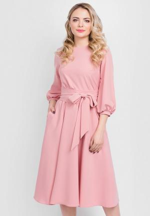 Платье Eva. Цвет: розовый