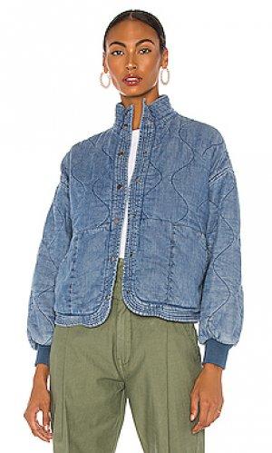 Куртка BLANKNYC. Цвет: синий