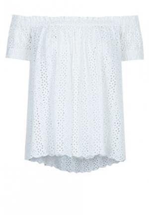Блуза MYTWIN. Цвет: белый