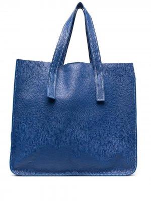 Большая сумка-тоут Farry P.A.R.O.S.H.. Цвет: синий