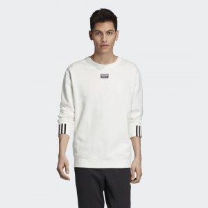 Свитшот Crew Originals adidas. Цвет: белый