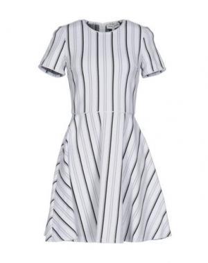Короткое платье OPENING CEREMONY. Цвет: белый