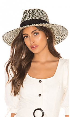 Шляпа joanna Brixton. Цвет: черный