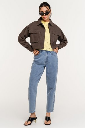 Куртка джинсовая befree. Цвет: 13, хаки, оливковый