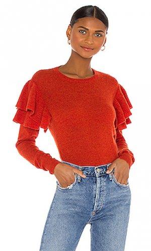 Свитер Autumn Cashmere. Цвет: rust,burnt orange