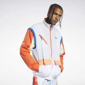 Спортивная куртка Classics Zip-Off Reebok. Цвет: glass blue