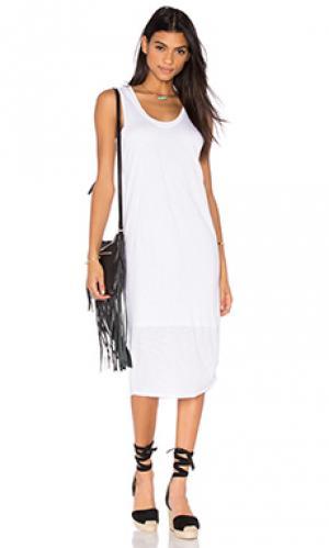 Платье-майка merrill Nation LTD. Цвет: белый