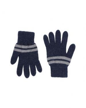 Перчатки PIQUADRO. Цвет: темно-синий